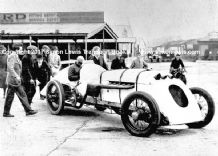 BABS Parry Thomas in Brooklands paddock 1926 (a) photo